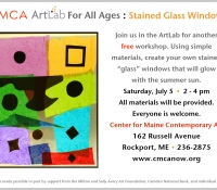 CMCA ArtLab Stained Glass Bronstein