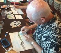 bronstein-watercolor-celebrity-cruise-caribbean