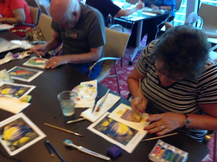 watercolor-fish-celebrity-cruise
