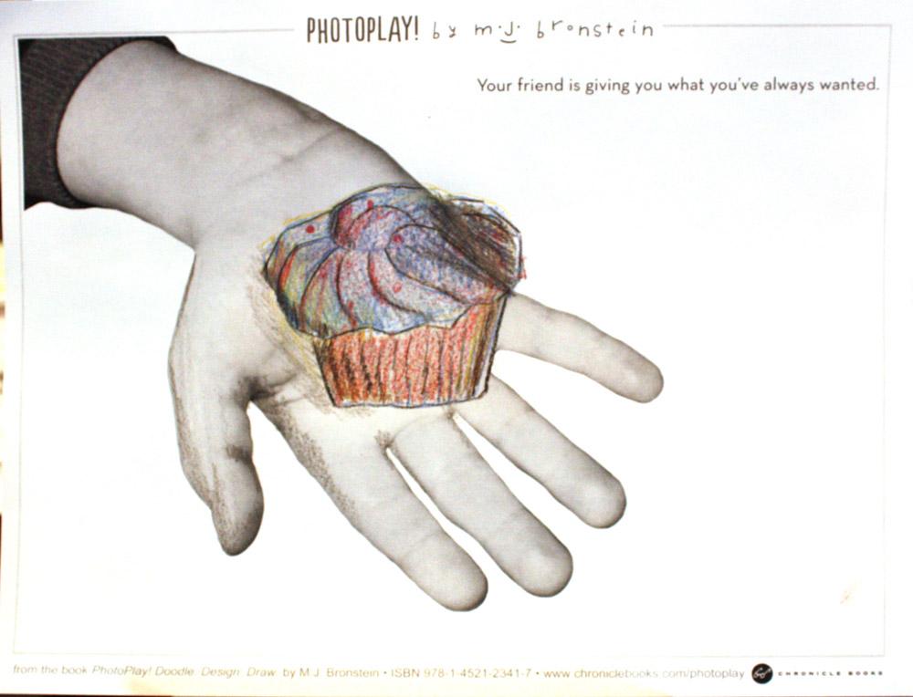 PhotoPlay_Bronstein_Chronicle_Portland Museum_cupcake