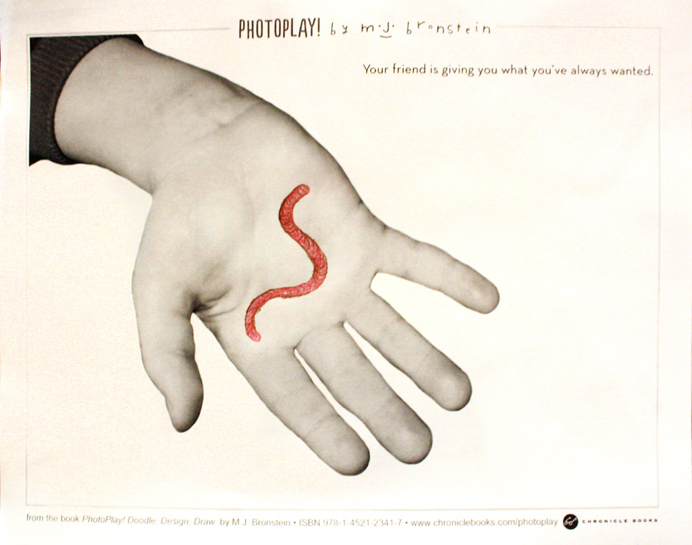 PhotoPlay_Bronstein_Chronicle_Portland Museum_worm
