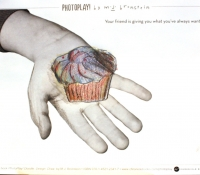 PhotoPlay_Bronstein_Chronicle_Portland Museum_cupcake