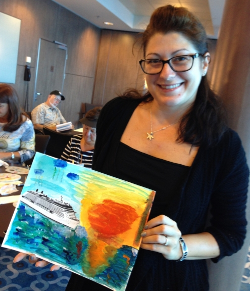 Marcie-Bronstein-watercolor-celebrity-solstice-4
