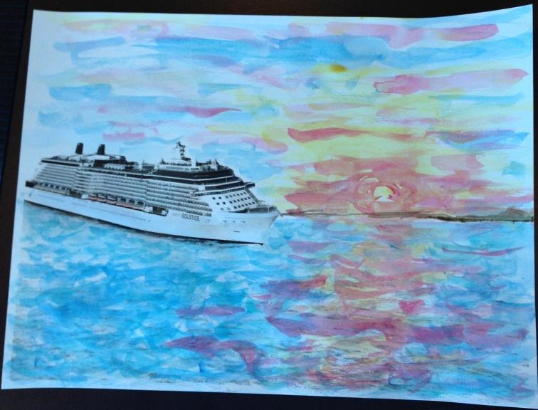 Marcie-Bronstein-watercolor-celebrity-solstice-5