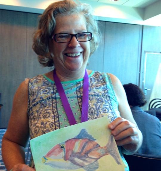 Marcie-J-Bronstein-watercolor-CelebritySolstice-humuhumu
