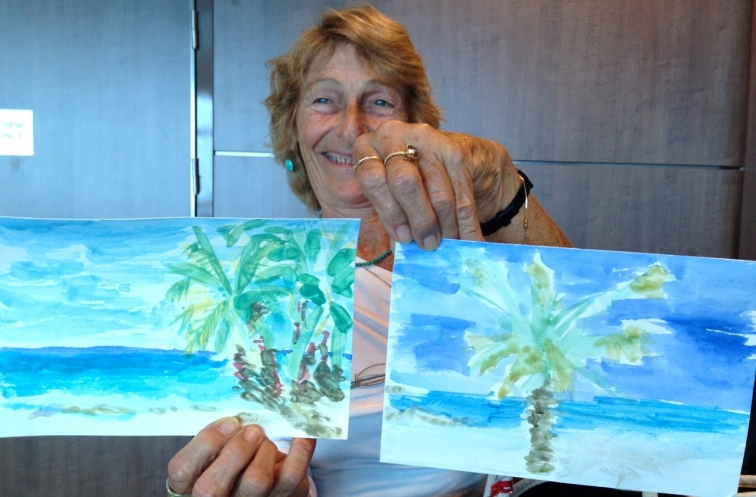 Marcie-J-Bronstein-watercolor-CelebritySolstice-south-pacific