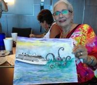 Marcie-Bronstein-watercolor-celebrity-solstice-6