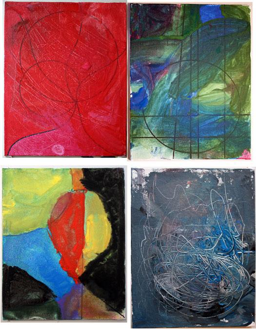 m j bronstein ArtLab geometric painting prompt 3