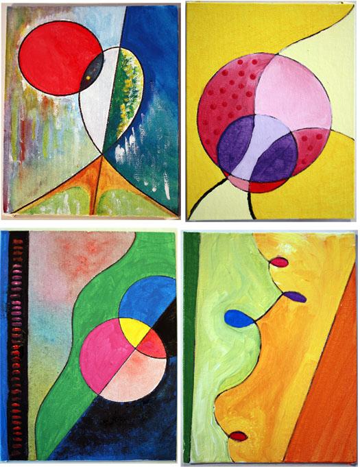 m j bronstein ArtLab geometric painting prompt 5