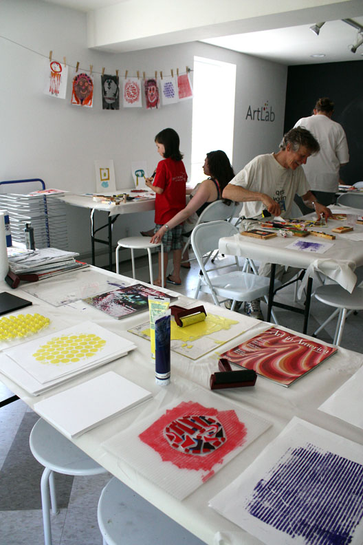 M J Bronstein collaborative printing cmca art 10
