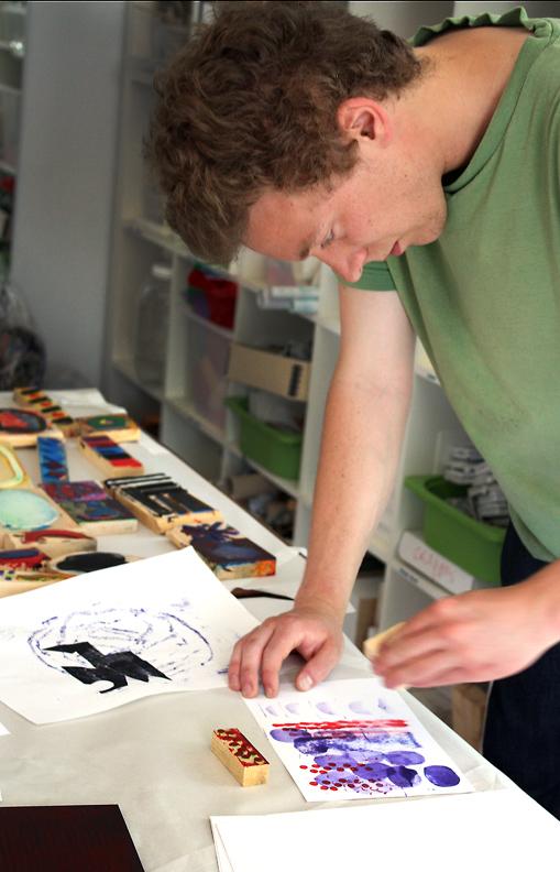 M J Bronstein collaborative printing cmca art 13