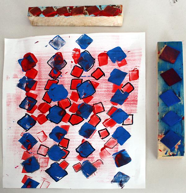 M J Bronstein collaborative printing cmca art 14
