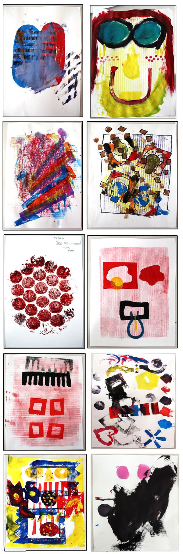 M J Bronstein collaborative printing cmca art 17