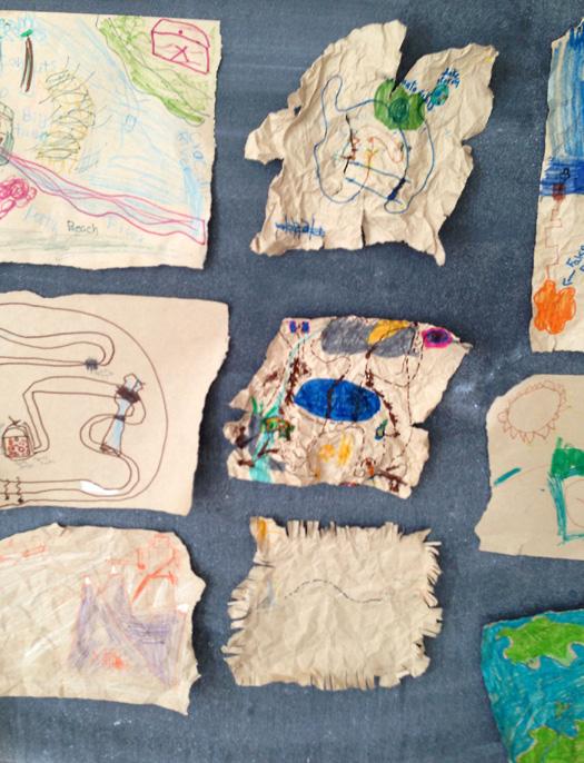 PhotoPlay M J Bronstein Map treasure 2