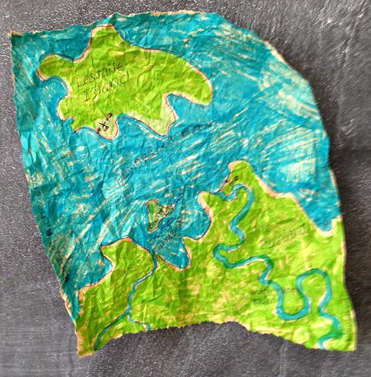 PhotoPlay M J Bronstein Map treasure 3