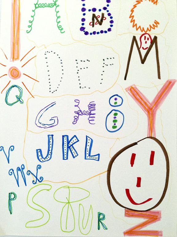 M J Bronstein-collaborative alphabet-artlab 2