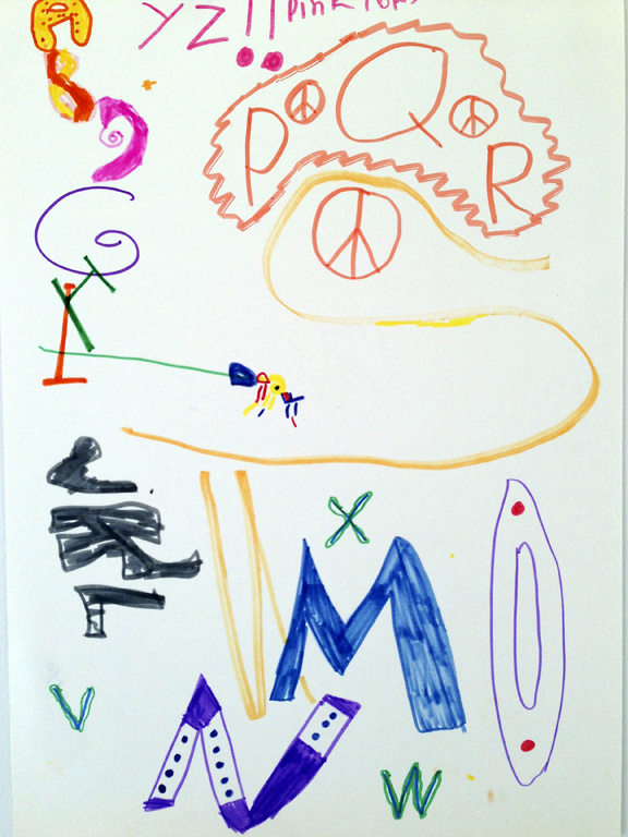 M J Bronstein-collaborative alphabet-artlab 3
