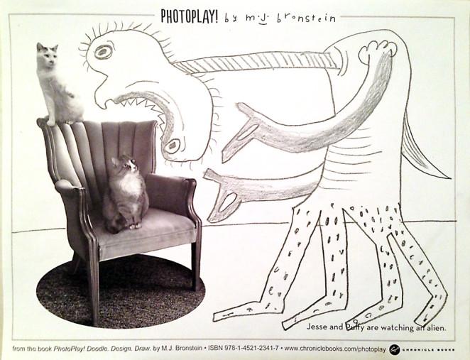 PhotoPlay_Bronstein_Chronicle Books_Alien art
