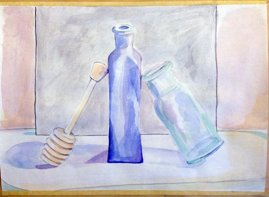 Bronstein-still life-bottles
