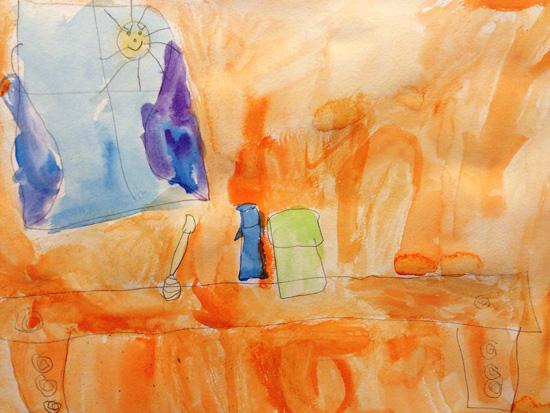 bronstein-child-painting-still life