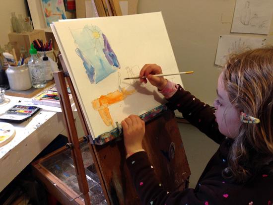 child-painting-bronstein-studio