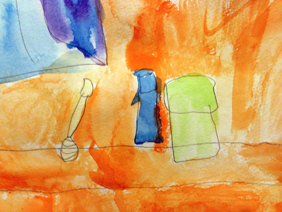 child-painting-still life-bronstein