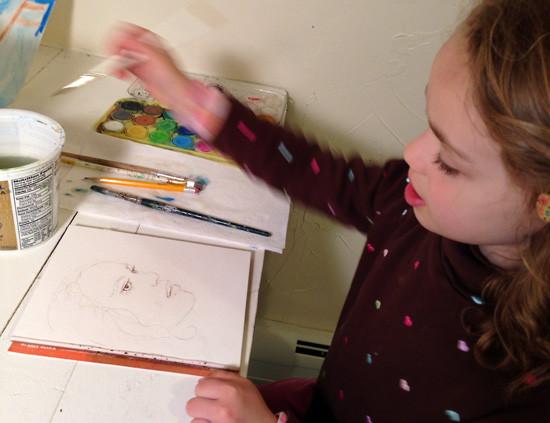 portrait-child-painting-draw-bronstein
