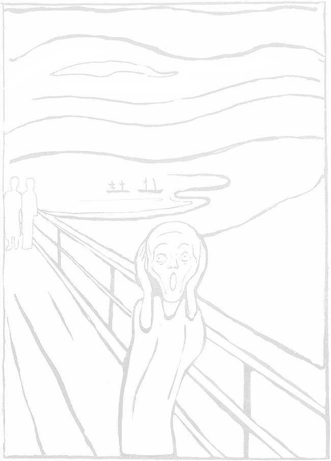 The Scream- bronstein