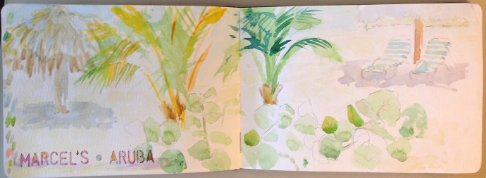 Aruba-M.J.Bronstein-watercolor