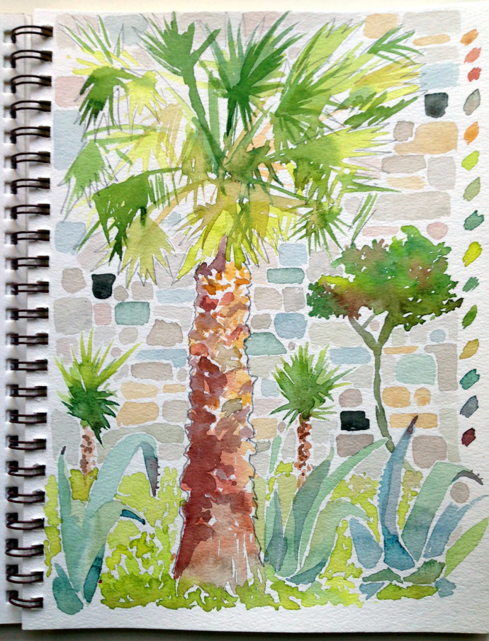 palm-tree-st.peter-castle-bodrum-bronstein