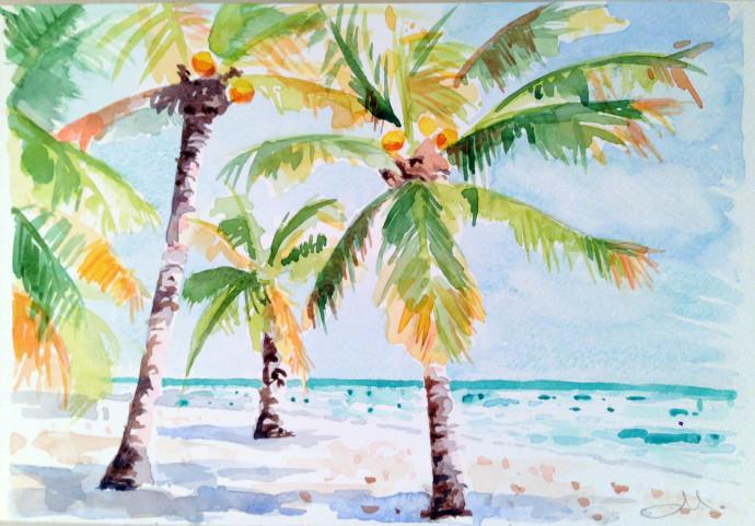 watercolor-mattinablue-palm